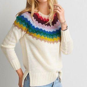 American Eagle multicolored sweater